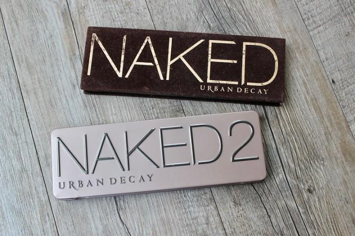 Luovuin Naked-paleteistani