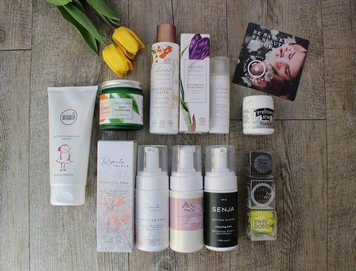 Huhtikuun kosmetiikkaostokset: tilaus Myrtilli-verkkokaupasta